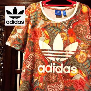adidas - アディダス ファーム 花柄 ジャージ Tシャツ 南国 タンクトップ パンツ