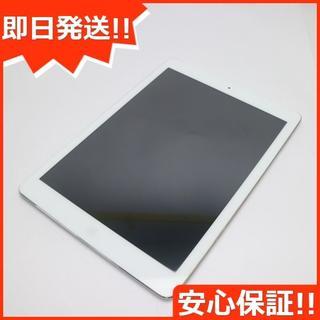 アップル(Apple)の美品 SOFTBANK iPad Air Cellular 16GB シルバー (タブレット)