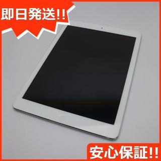 アップル(Apple)の美品 SOFTBANK iPad Air Cellular 64GB シルバー (タブレット)