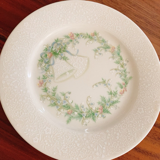 ノリタケ(Noritake)のアンティーク ノリタケ ブライダル 花柄 プレート レア ディスプレイ(食器)