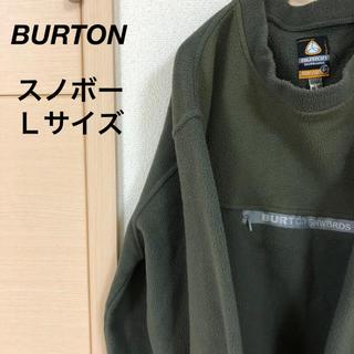 バートン(BURTON)の【バートン】 フリース  アースカラー カーキー ゆるだぼ 01(スウェット)