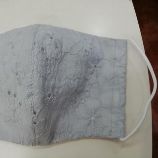 刺繍レース手作り立体マスク(型紙/パターン)