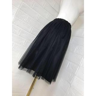 アニエスベー(agnes b.)の未使用タグ付き定価16,800円 アニエスb  スカート サイズ38 (ミニスカート)