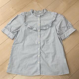 チャイルドウーマン(CHILD WOMAN)のチャイルドウーマン ストライプシャツ(シャツ/ブラウス(半袖/袖なし))