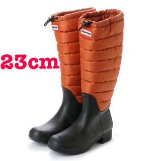 ハンター(HUNTER)のHUNTER ハンター レイン・スノーブーツ ロングブーツ 新品未使用品(レインブーツ/長靴)