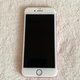 アップル(Apple)のiPhone 7 Rose Gold 128GB SIMフリー(スマートフォン本体)