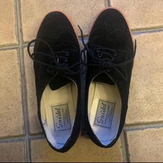 シンディー(SINDEE)のsnidel スナイデル ブラック ローファー(ローファー/革靴)