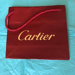 カルティエ(Cartier)の【Cartier】ショップ袋(未使用)値下げ交渉に対応します!(ショップ袋)