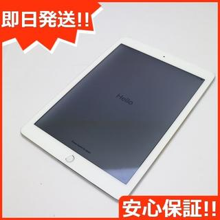 アップル(Apple)の美品 au iPad Air 2 Cellular 64GB シルバー (タブレット)