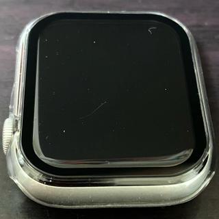アップル(Apple)のApple watch SE 44mm GPS シルバーアルミニウムケース(その他)