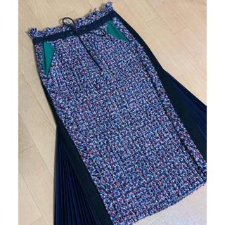 サカイ(sacai)のsacai サカイ ツイードスカート(ひざ丈スカート)