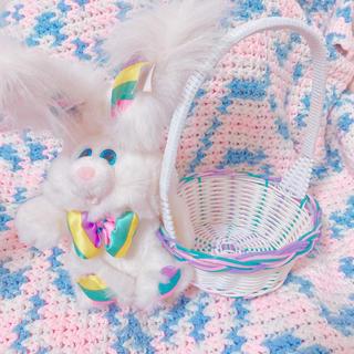 スパンク(Spank!)のお値下げ「12」93's dandee イースターバニー bunny ぬいぐるみ(ぬいぐるみ)