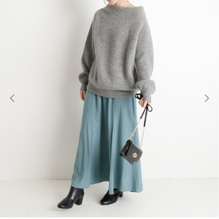 IENA SLOBE - SLOBE IENA  CHRADE切り替えスカート
