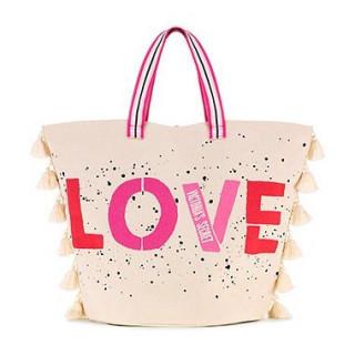 ヴィクトリアズシークレット(Victoria's Secret)の新品 ビッグ トートバッグ 特大サイズ LOVE BAG(トートバッグ)