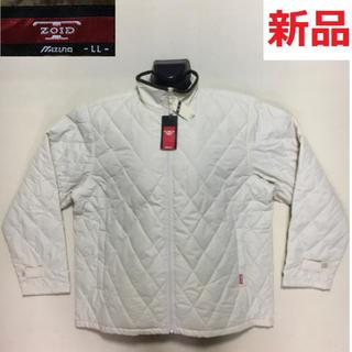 ミズノ(MIZUNO)の新品 ミズノ ブレスサーモ 中綿 キルティングジャケット ベージュ LLサイズ(ウエア)