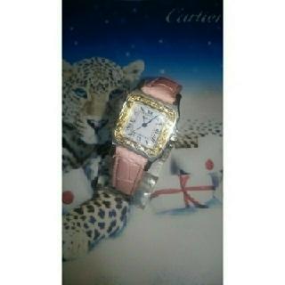 カルティエ(Cartier)のCartier・Santos・automatic・diamond・bezel(ペン/マーカー)