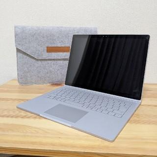 マイクロソフト(Microsoft)のSurfacebook  i5/8GB/128GB  バッテリ交換済(ノートPC)