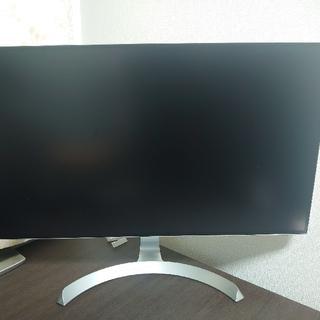 エルジーエレクトロニクス(LG Electronics)の極美品 LG[27型 IPS フルHD ワイドモニター4辺フレームレスモデル](テレビ)