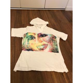 ジャンポールゴルチエ(Jean-Paul GAULTIER)のゴルチェ フーディー パーカー (Tシャツ(半袖/袖なし))