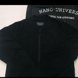 ナノユニバース(nano・universe)のナノ・ユニバース ブルゾン MA-1 ジャケット フリース(ブルゾン)