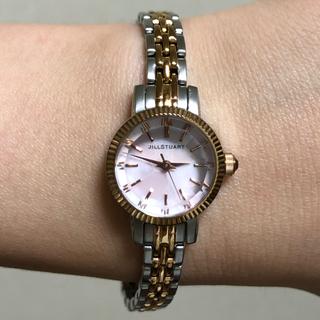 ジルスチュアート(JILLSTUART)のシルスチュアート JILLSTUART 時計 腕時計 PG×シルバーのコンビ(腕時計)