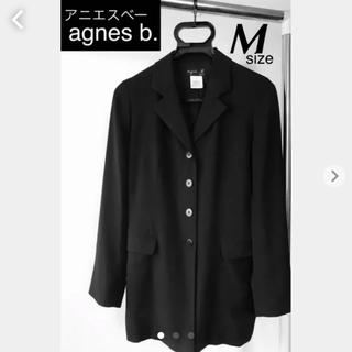 アニエスベー(agnes b.)のagnes b. 長めジャケット(テーラードジャケット)