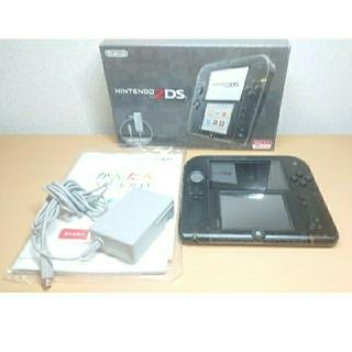 ニンテンドー2DS(ニンテンドー2DS)のニンテンドー3DS 2DS 本体 クリアブラック(携帯用ゲーム機本体)