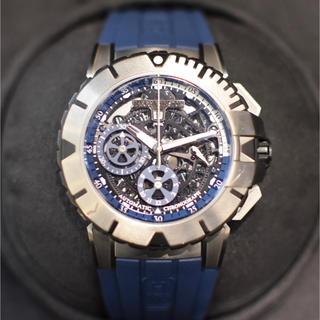 ハリーウィンストン(HARRY WINSTON)の美品国内正規 ハリーウィンストン ザリウム オーシャンスポーツ クロノグラフ (腕時計(アナログ))