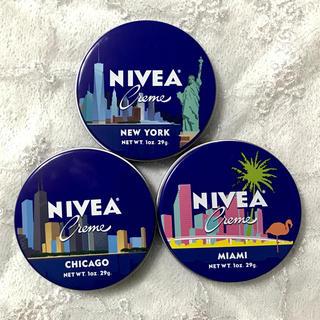 ニベア - 【SALE】新品未使用アメリカ限定デザイン  ニベア青缶 3個セット