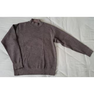 ムジルシリョウヒン(MUJI (無印良品))の無印良品 ウール混ダブルフェイスハイネックセーター Sサイズ(ニット/セーター)