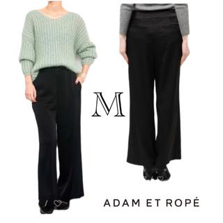 アダムエロぺ(Adam et Rope')の【美品】アダムエロペ 定価16,200円 パンツ 黒(その他)