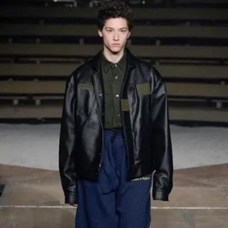 コムデギャルソン(COMME des GARCONS)のGosha Rubchinskiy military jacket  17aw(レザージャケット)