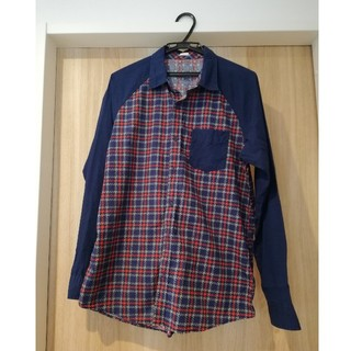 ジーユー(GU)のGU Men's チェックシャツ(シャツ)