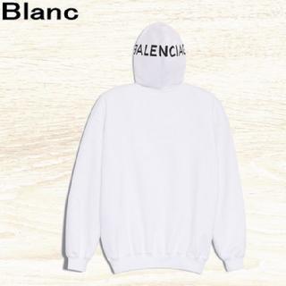 バレンシアガ(Balenciaga)の◆新品◆ BALENCIAGA ヨンアさん着用品 フード ロゴ フーディ(パーカー)