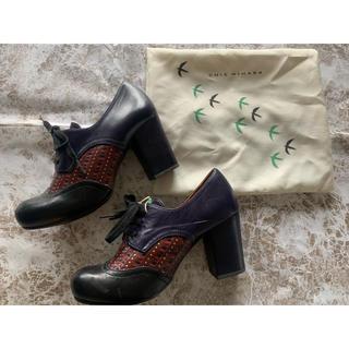 マメ(mame)の限定値下げ!◆ チエ・ミハラ(CHIE MIHARA) オックスフォードパンプス(ローファー/革靴)