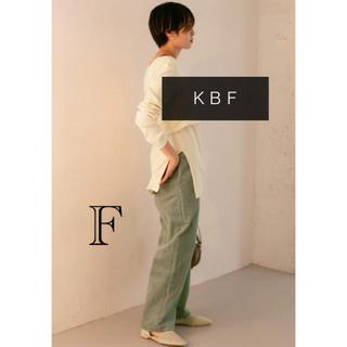 ケービーエフ(KBF)の【KBF】フリンジコーデュロイパンツ グリーン♡(その他)