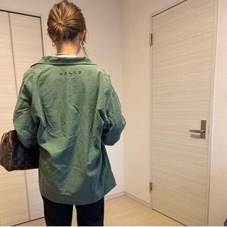 シンゾーン(Shinzone)のpreloved ミリタリー シャツ ジャケット ロンハーマン Shinzone(ミリタリージャケット)