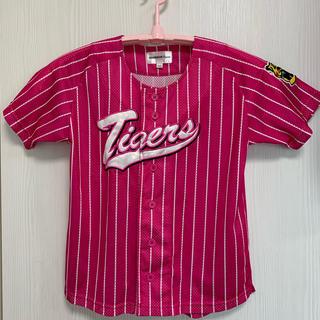 ハンシンタイガース(阪神タイガース)のTigers ユニホーム【120㎝】(応援グッズ)