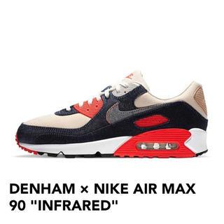 ナイキ(NIKE)のDENHAM×NIKE AIR MAX90 infrared(スニーカー)