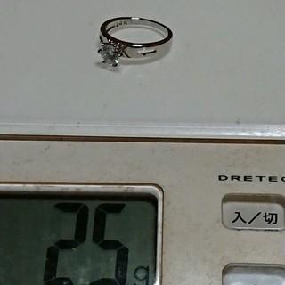 17号 14KT filled キュービックホワイトリング(リング(指輪))