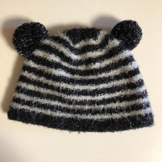 エイチアンドエム(H&M)のモコモコクマ耳帽子(帽子)