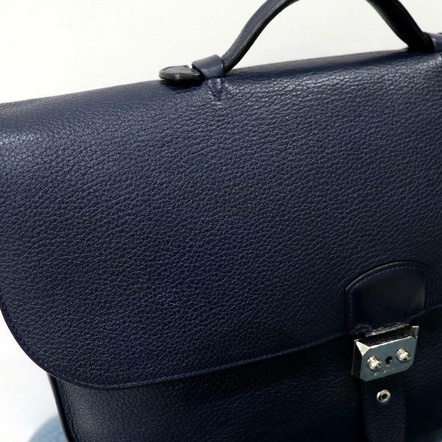 Hermes(エルメス)の美品 エルメス サックアデペッシュ 40 トリヨンクレマンス ネイビー メンズのバッグ(ビジネスバッグ)の商品写真