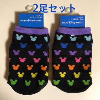 ディズニー(Disney)の【新品タグ付き】ディズニーリゾート ミッキー靴下(靴下/タイツ)