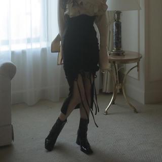 バブルス(Bubbles)のmelt the lady フロントオープンスカート(ロングスカート)