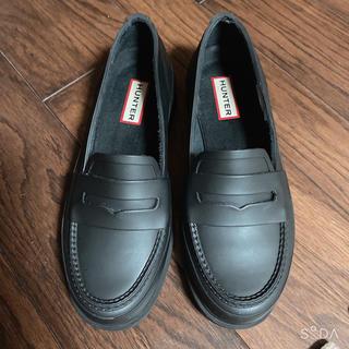ハンター(HUNTER)のHunter マット ペニーローファー 22cm(レインブーツ/長靴)