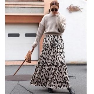 ルームサンマルロクコンテンポラリー(room306 CONTEMPORARY)のroom306  Animal Pattern Maxi Skirt(ロングワンピース/マキシワンピース)