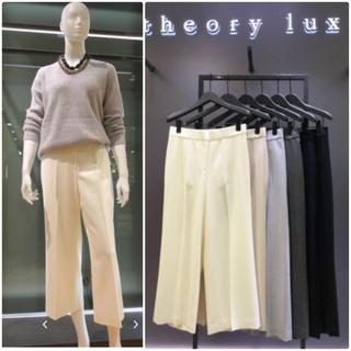 セオリーリュクス(Theory luxe)のtheory luxe ウールSAXONY ブラウス ワイドパンツ  セット(セット/コーデ)