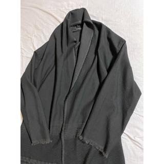 コモリ(COMOLI)のCOMOLI 2020ss ストールジャケット black 未使用(カーディガン)