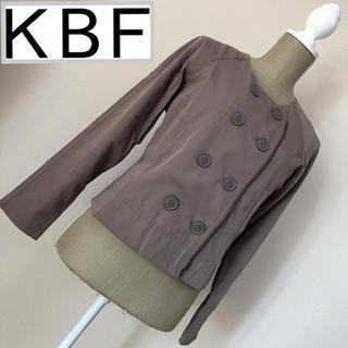 KBF - KBF ノーカラージャケット ブルゾン