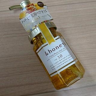 ボタニスト(BOTANIST)の&honey アンドハニー ディープモイスト ヘアオイル 新品(オイル/美容液)